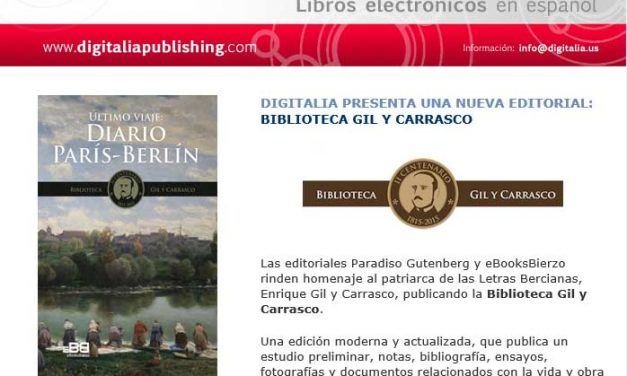 Digitalia incorpora la Biblioteca Gil y Carrasco